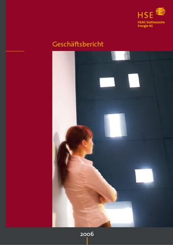 Konzept / Gestaltung, HSE Geschäftsbericht 2006