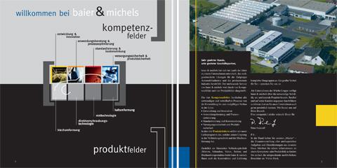Image-Broschüre, b&m, Visual, Editorial