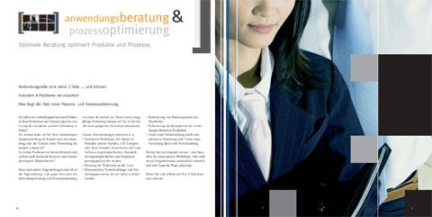 Image-Broschüre, KOMPETENZfeld Anwendungsberatung & Prozessoptimierung