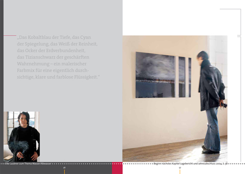 """Konzept / Gestaltung, HSE Geschäftsbericht 2004 – """"Farbe wirkt"""""""