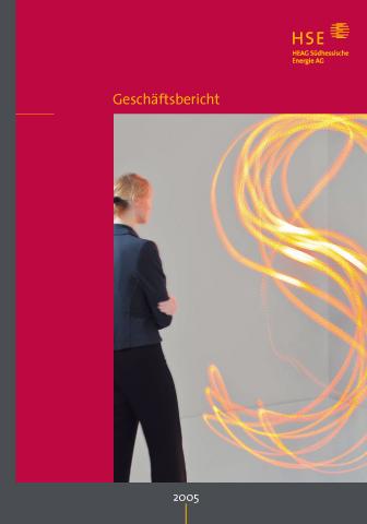 """Konzept / Gestaltung, HSE Geschäftsbericht 2005 – """"Farbe inspiriert"""""""